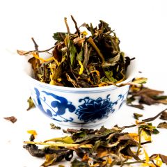 weißer Tee Holunderblüte - Grüner Tee - 100g