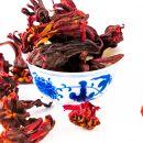 handverlesene ganze Hibiskusblüten - Früchte Tee - 100g