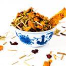 Rhabarber-Apfelsine - Früchte Tee - 100g