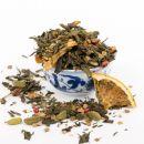 Orangenplätzchen - Grüner Tee - 100g